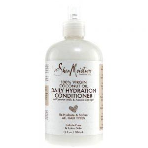 Shea Moisture 100% Virgin Coconut Oil Daily Hydration Conditioner Leave-In Conditioner