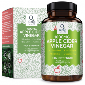 APPLE CIDER VINEGAR 1000MG PER 2 CAPSULES