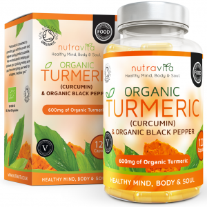 ORGANIC TURMERIC WITH ORGANIC BLACK PEPPER