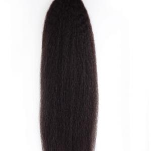 Indian Virgin Wefted Hair - Kinky Straight
