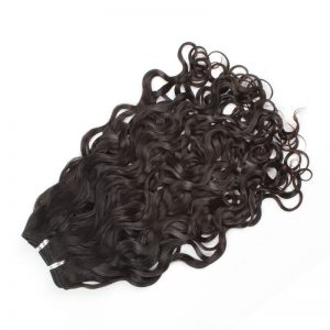 Brazilian Virgin Wefted Hair - Loose curl