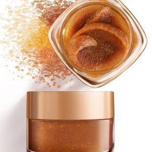 L'Oreal Paris Smooth Sugar Glow Grapeseed Face and Lip Scrub 50ml