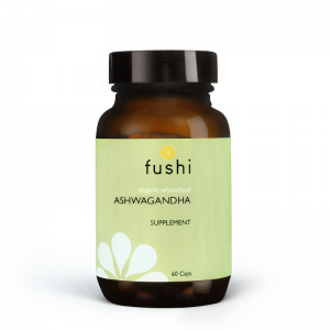 ASHWAGANDHA CAPSULES, ORGANIC FRESH-GROUND®, 60 CAPS