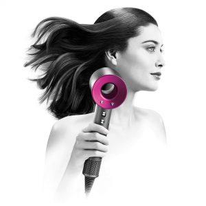 Dyson Supersonic Hair Dryer, Iron/Fuchsia